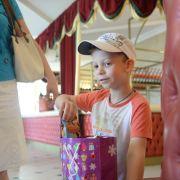 подарки для детей от Благотворительного Фонда Хайруллина