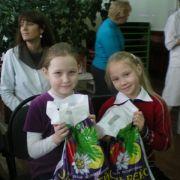 девочки получили подарки от благотворительного фонда